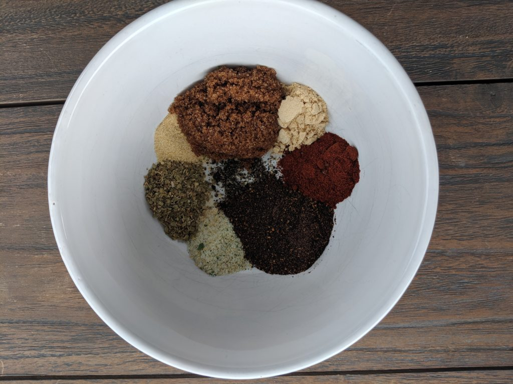 Dry Rub Ingredients
