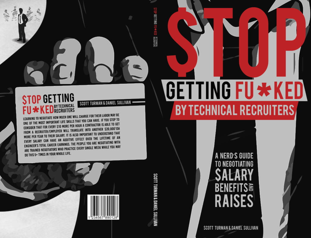 Book Cover - Stop Getting Fu*ked By Technical Recruiters