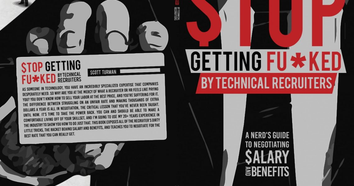 Book Cover - Stop Getting Fu*cked by Technical Recruiters